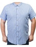 7963-3 Рубашка муж.(кор.рукав) 3XL-6XL по 4