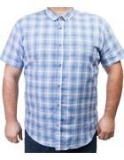 7963-4 Рубашка муж.(кор.рукав) 3XL-6XL по 4