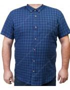 7963-5 Рубашка муж.(кор.рукав) 3XL-6XL по 4