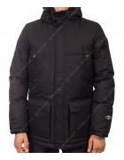 M-02/32580 чёрн. Куртка мужская M-XXXL по 5