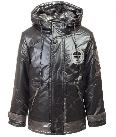 B-802 т.серый Куртка мальчик 104-128 по5
