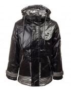 B-802 черный Куртка мальчик 104-128 по5