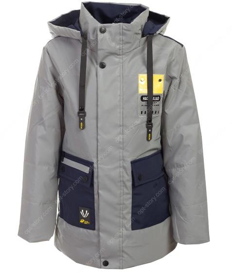 GL-04 синий Куртка мальчик 140-164 по5 рефлект