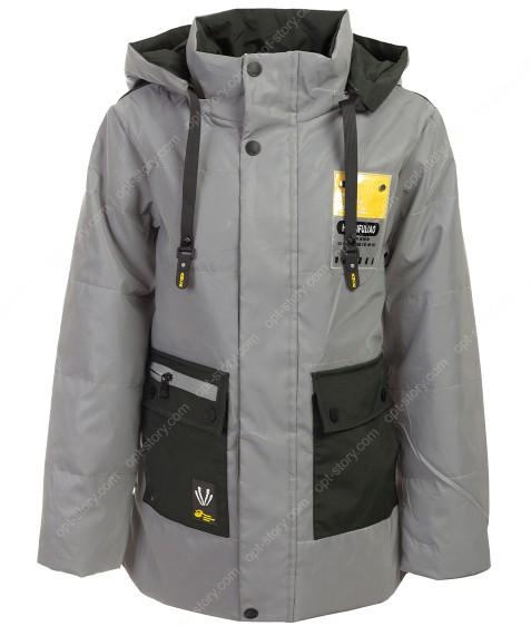 GL-04 хаки Куртка мальчик 140-164 по5 рефлект