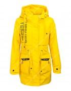 HL-620 желтый Куртка девочка 140-164 по 5