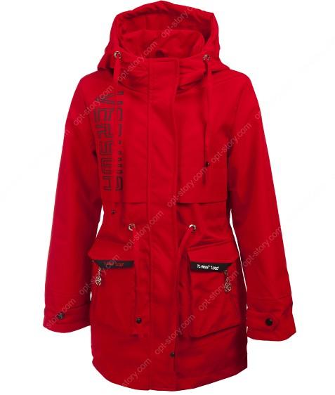 HL-620 красный Куртка девочка 140-164 по 5