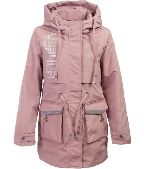 HL-620 пудра Куртка девочка 140-164 по 5