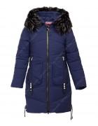 HM-806 син.Куртка девочка 140-164 по 5