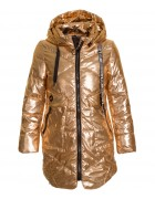 828 золото Куртка девочка 134-158 по 5 (134. 152)