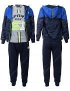 CH5773 синий Спорт. костюм мальчик 116-146 по 6