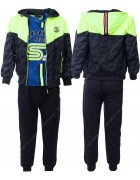 CH5773 салат Спорт. костюм мальчик 116-146 по 6