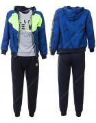CH5776 синий Спорт. костюм мальчик 116-146 по 6