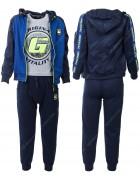 CH5795 синий Спорт. костюм мальчик 134-164 по 6