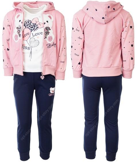 CH5806 розовый Спорт. костюм девочка 1-5 по 5
