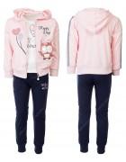 CH5815 розовый Спорт. костюм девочка 98-128 по 6
