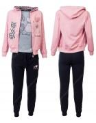 CH5817 розовый Спорт. костюм девочка 116-146 по 6
