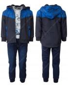 KK936 синий Спорт.костюм  мальчик 3-ка 1-5 по 5
