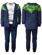 KK936 зеленый Спорт. костюм мальчик 3-ка 1-5 по 5