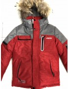 JKI-908 дж/красн. Куртка мальчик 128-152 по 5