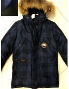 JKI-1902 т.син Куртка мальчик 140-164 по 5