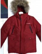 JKI-1905 красн. Куртка мальчик 140-164 по 5