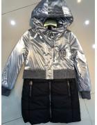 YS-1950 серебро Куртка девочка 122-146 по 5