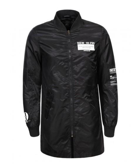 MFY-7791 черн. Куртка мужская M-XXL 24/4