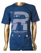 DJ756 синий Футболка мужская 3XL-6XL по 4