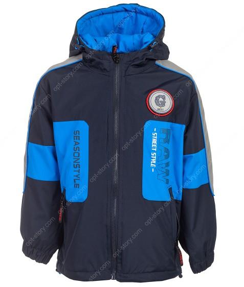 HB8271 синий Куртка мал. 3-8 по 5