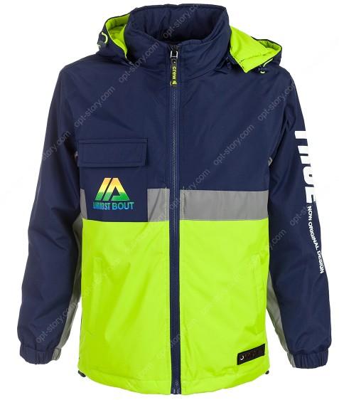 HB8277 зеленый Куртка мал. 8-16 по 5