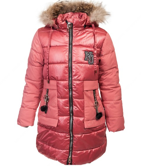 LH-23 т.роз Куртка девочка 122-146 по 5
