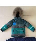 2011 зел. Куртка мальчик 92-116 по 5