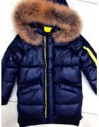 8972 син. Куртка Unisex 134-158 по 5