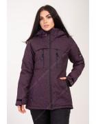 2355 бордо Куртка женская S-XL по 4