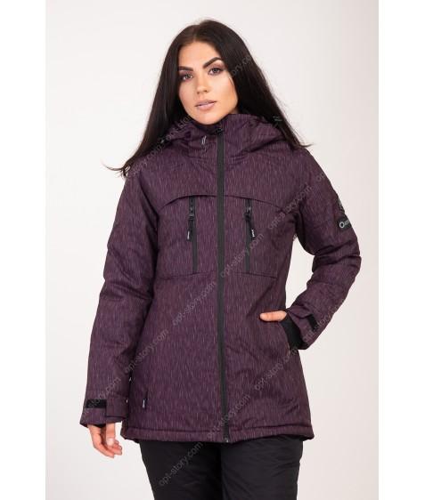 2355 фиолет Куртка женская S-XL по 4
