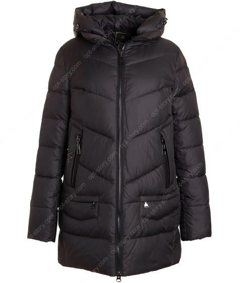 219#21/24038 графит Куртка женская (био-пух) XL-6XL по 6