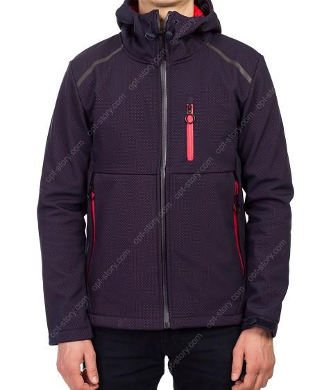 H-11 красн Куртка мужская M-2XL по 4