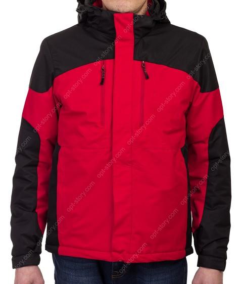 B995 красн Куртка мужская M-3XL по 5