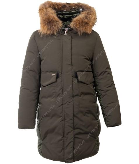 S-20 хаки Куртка девочка  134-158 по 5