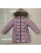LH-25 пудра Куртка девочка 116-140 по 5