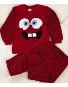 00167 красн. Пижама мальчик 1-3 по 3