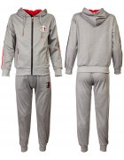 8338 серый  Спортивный костюм мальчик 134-164 по 6