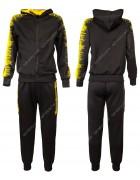 926 чёрный Спортивный костюм мальчик  8-16 по 5