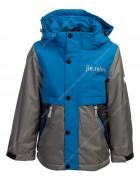 H955 голуб. Куртка мальчик 110-134  по 5