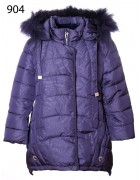 904 тёмн. синий Куртка девочка 122-146 по 5шт