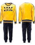JF-1797 желтый Спорт. костюм мальчик ВЕЛЮР 3-8 по 5