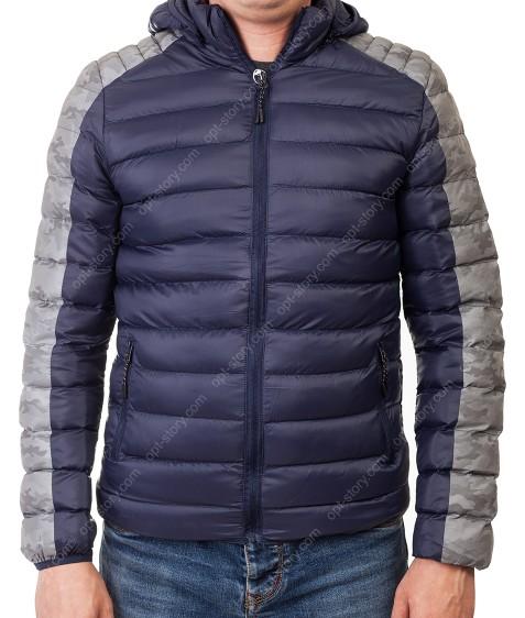 2370 т.син Куртка мужская S-XL по 4
