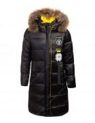 HL856 черн. Куртка девочка 134-158 по 5 шт.