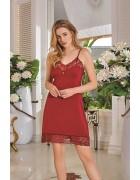 Комплект белья бордовый размер L по 3  штуки арт. 2971