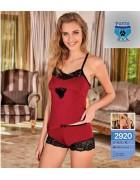 Комплект белья бордовый размер L/XL по 3 штуки арт. 2920